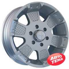 Легковой диск MKW MK-41 Silver - Интернет магазин резины и автотоваров Autotema.ua