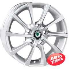 Купить REPLICA Skoda JT-1263 SiL R15 W6 PCD5x112 ET40 DIA57.1