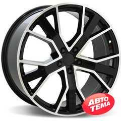 Купить Легковой диск REPLICA LegeArtis A520 BKF R18 W8 PCD5x112 ET39 HUB66.6