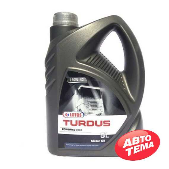 Моторное масло LOTOS TURDUS POWERTEC 3000 - Интернет магазин резины и автотоваров Autotema.ua