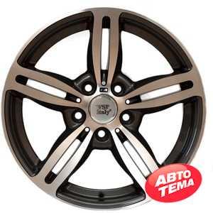 Купить WSP Italy Agropoli BM52 W652 Anthracie Polished R18 W8 PCD5x120 ET34 DIA72.6