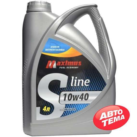 Купить Моторное масло MAXIMUS S-line 10W-40 (1л)