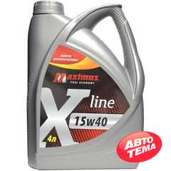 Купить Моторное масло MAXIMUS X-line 15W-40 (4л)
