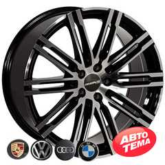 Купить Легковой диск REPLICA BMW BK841 BP R20 W9 PCD5X112 ET26 DIA66.6
