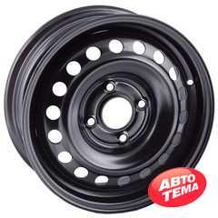 Купить Легковой диск STEEL TREBL 64E45M BLACK R15 W6 PCD4x114.3 ET45 DIA66.1