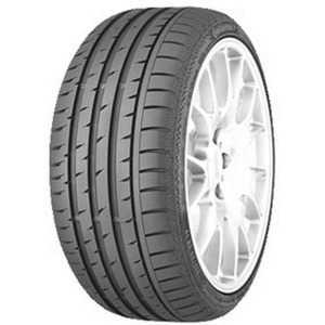 Купить Летняя шина CONTINENTAL ContiSportContact 3 245/45R18 100W