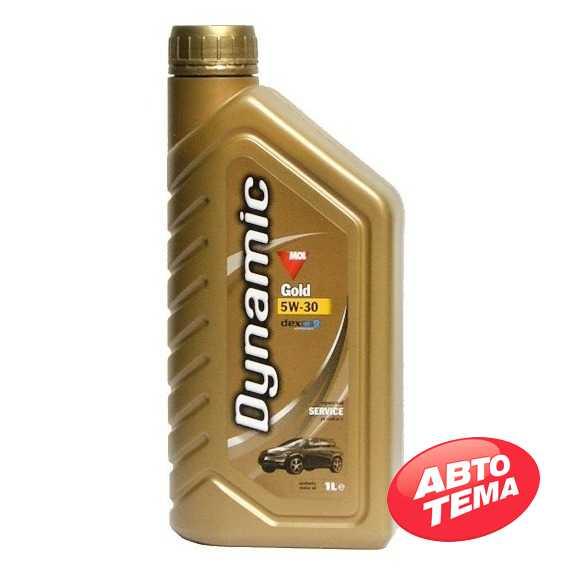 Моторное масло MOL Dynamic Gold - Интернет магазин резины и автотоваров Autotema.ua