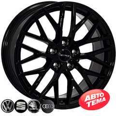 Купить Легковой диск ZF TL1420NW BLACK R18 W8 PCD5x112 ET38 DIA66.6