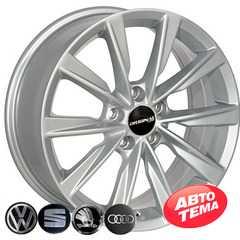 Купить Легковой диск REPLICA SKODA TL0285NW S R17 W7 PCD5x112 ET43 DIA57.1