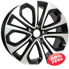 Купить Легковой диск REPLICA H1052 BKF R18 W8 PCD5x114.3 ET55 DIA64.1