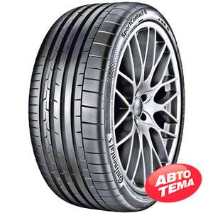 Купить Летняя шина CONTINENTAL ContiSportContact 6 325/30R21 108Y