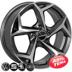 Купить Легковой диск REPLICA SEAT BK5340 GP R15 W6 PCD5x112 ET40 DIA57.1