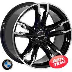 Купить Легковой диск REPLICA BMW BK5255 BP R17 W8 PCD5x120 ET35 DIA72.6