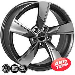 Купить Легковой диск ZF SK522 GMF R17 W7 PCD5x112 ET40 DIA57.1