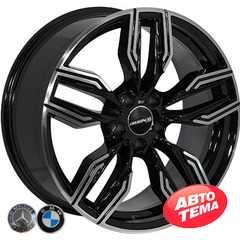 Легковой диск REPLICA BMW BK5181 BP - Интернет магазин резины и автотоваров Autotema.ua