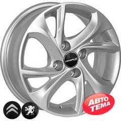Купить Легковой диск REPLICA CITROEN TL4010 S R15 W6 PCD4x108 ET23 DIA65.1