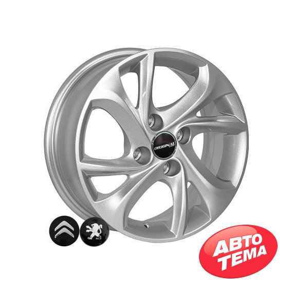 Купить Легковой диск ZF TL4010 S R15 W6 PCD4x108 ET23 DIA65.1