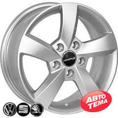 Купить Легковой диск REPLICA VOLKSWAGEN FR583 S R15 W6 PCD5x112 ET47 DIA57.1