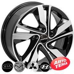 Купить Легковой диск REPLICA HYUNDAI 5078 BMF R15 W6 PCD5x114.3 ET45 DIA67.1