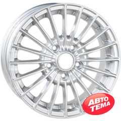 Купить Легковой диск REPLICA T-537 S R15 W6 PCD5x112 ET45 DIA57.1
