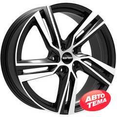 Легковой диск GMP Italia ARCAN POL/BLK - Интернет магазин резины и автотоваров Autotema.ua