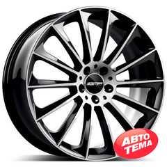 Купить Легковой диск GMP Italia STELLAR POL/BLK R17 W7.5 PCD5x110 ET33 DIA65.1