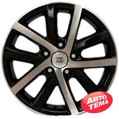 Легковой диск WSP ITALY W460 Rheia GLOSSY BLACK POLISHED - Интернет магазин резины и автотоваров Autotema.ua