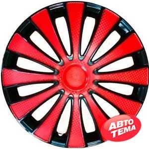 Купить Колпаки STAR GMK Red Black 15