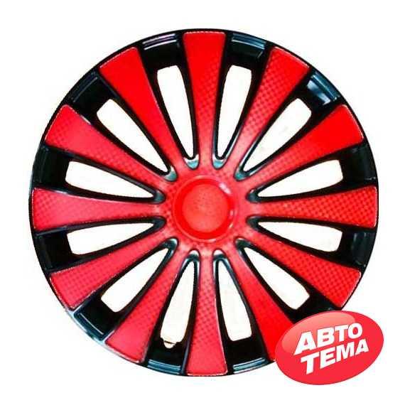 Колпаки STAR GMK Red Black - Интернет магазин резины и автотоваров Autotema.ua