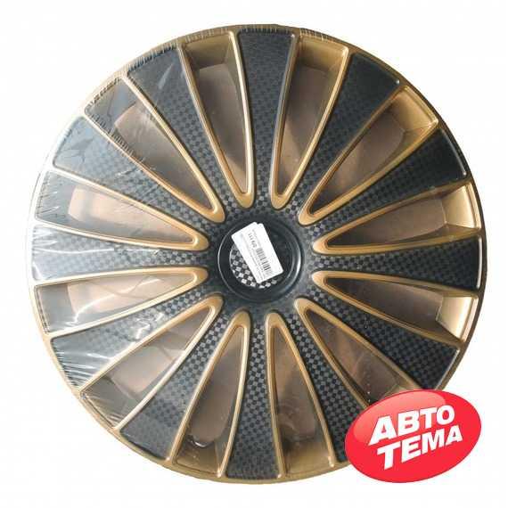 Колпаки STAR GMK Super Black Gold - Интернет магазин резины и автотоваров Autotema.ua