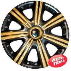 Колпаки STAR DTM Super Black Gold - Интернет магазин резины и автотоваров Autotema.ua