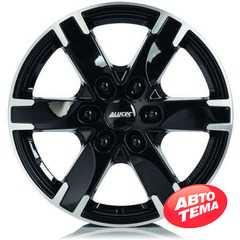 Купить Легковой диск ALUTEC Titan Diamond Black Front Polished R17 W7.5 PCD6x139.7 ET38 DIA67.1