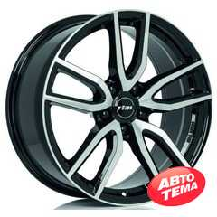 Купить Легковой диск RIAL Torino Diamond Black Front Polished R19 W8 PCD5x114,3 ET40 DIA70.1
