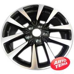 Купить Легковой диск REPLICA NS5274 BKF R17 W7 PCD5x114.3 ET40 DIA66.1