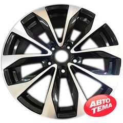 Купить Легковой диск REPLICA NS5515 BKF R17 W7 PCD5x114.3 ET40 DIA66.1