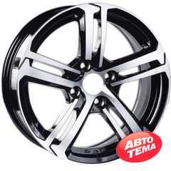 Купить Легковой диск JT 1721 BM R16 W6.5 PCD4x108 ET25 DIA65.1