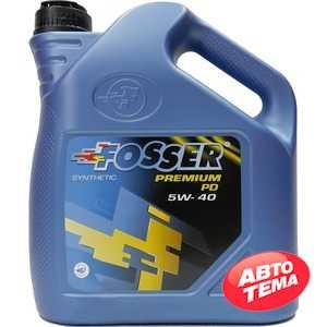 Купить Моторное масло FOSSER Premium PD 5W-40 (4л)