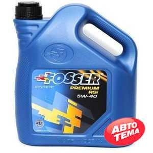 Купить Моторное масло FOSSER Premium RSi 5W-40 (4л)