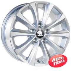 Купить Легковой диск REPLICA GT 1011D SMF R16 W7 PCD5x112 ET45 DIA57.1