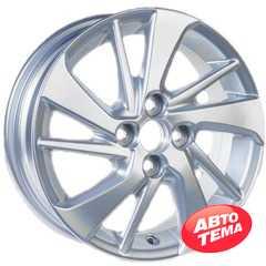 Легковой диск REPLICA GT 1057D Silver - Интернет магазин резины и автотоваров Autotema.ua