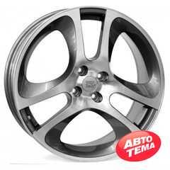 Купить WSP ITALY MaRs MITO AL55 W255 ANTHRACITE POLISHED R17 W7 PCD 4x98 ET39 DIA58.1
