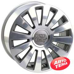 Купить Легковой диск WSP ITALY A8 RAMSES W535 ANTHRACITE POLISHED R17 W7.5 PCD5x100/112 ET42 DIA57.1