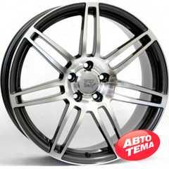 Купить WSP ITALY S8 Cosma Two W557 (Black Polished) R17 W7.5 PCD5x112 ET28 DIA66.6
