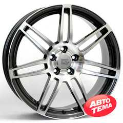 Купить WSP ITALY Cosma Two AU57 W557 Hyper Anthracite R18 W8 PCD5x112 ET31 DIA66.6