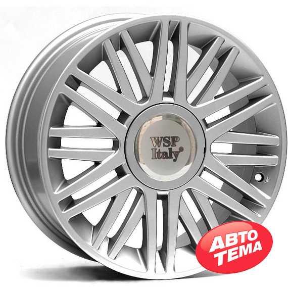 Легковой диск WSP ITALY CILENTO W315 SILVER - Интернет магазин резины и автотоваров Autotema.ua