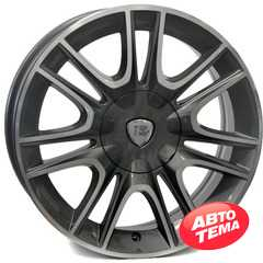 Купить Легковой диск WSP ITALY RIGA W317 ANTHRACITE POLISHED R16 W6.5 PCD4x98 ET30 DIA58.1