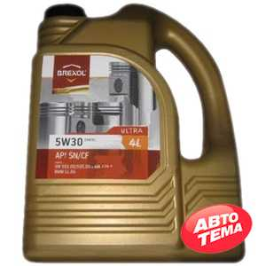 Купить Моторное масло BREXOL ULTRA 5W-30 SN/CF (4л)