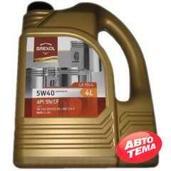 Купить Моторное масло BREXOL ULTRA 5W-40 SN/CF (4л)