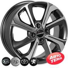 Купить Легковой диск ZW 7854 MK-P R15 W6 PCD4x100 ET40 DIA54.1