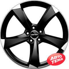 Легковой диск GMP Italia ICAN Satin Black Diamond - Интернет магазин резины и автотоваров Autotema.ua
